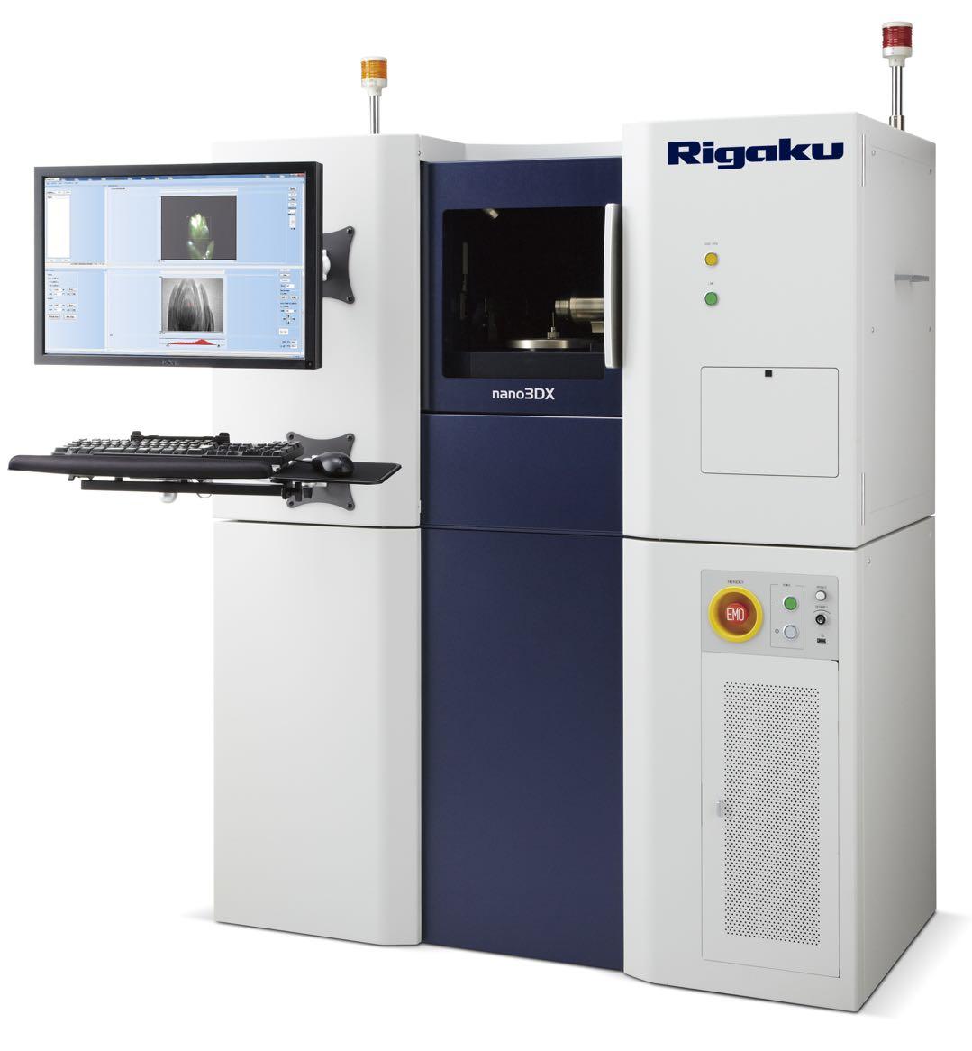 日本理学Rigaku XRD/Rigaku 3D CT与Nano 3DX